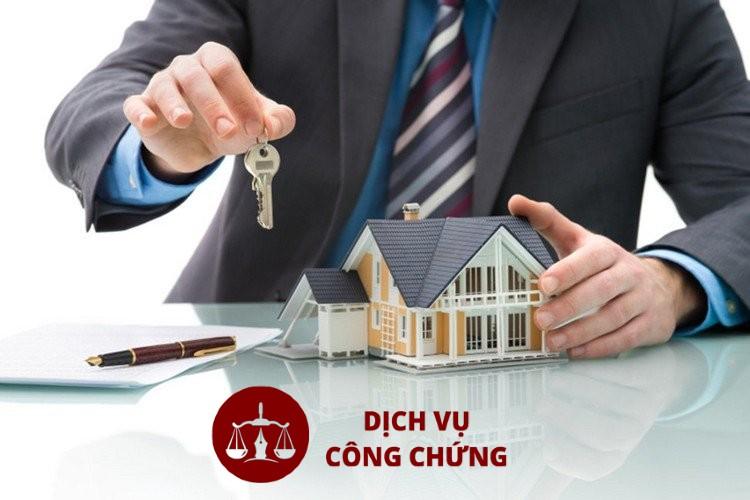 thực hiện thủ tục công chứng mua bán nhà đất
