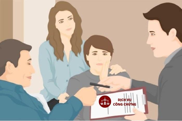 Hồ sơ thực hiện thủ tục công chứng thừa kế