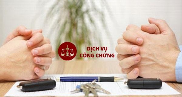 thủ tục công chứng thỏa thuận tài sản vợ chồng
