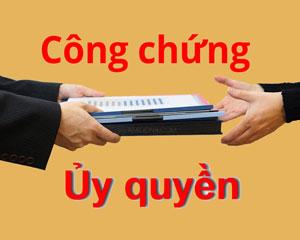 cong chung uy quyen
